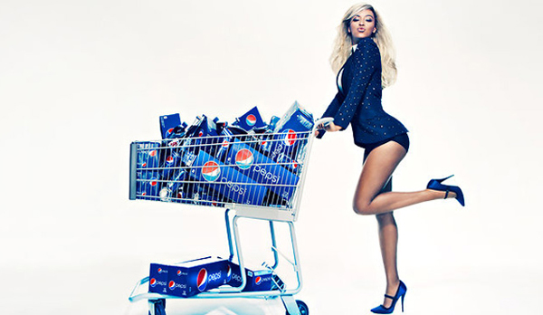 Beyonce signs £30 million deal with Pepsi!