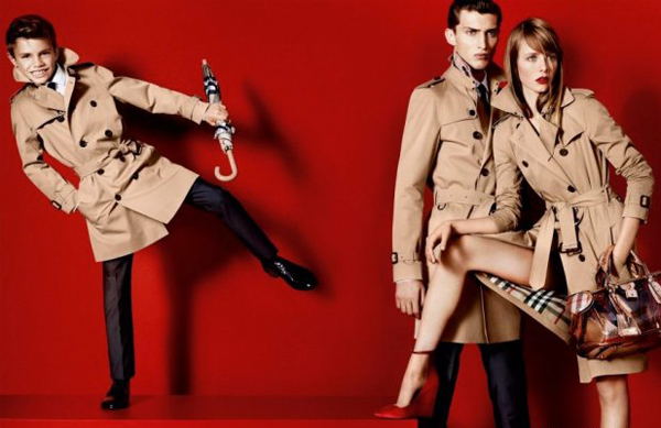 Romeo Beckham is the new face of Burberry!