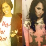 Cheryl Cole makes the Christmas jumper uber stylish