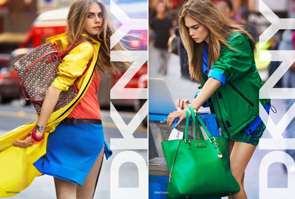 Cara Delevingne scores DKNY SS13 ad campaign