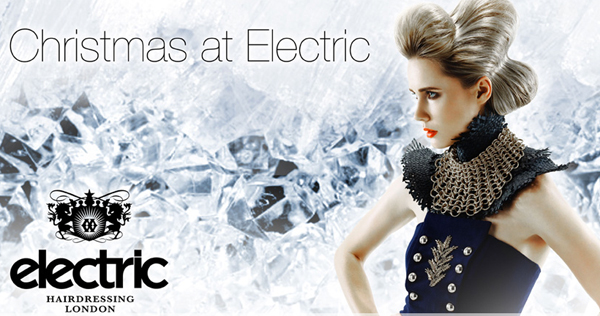 Treat yourself to an Electric London Champagne Blowdry this Christmas