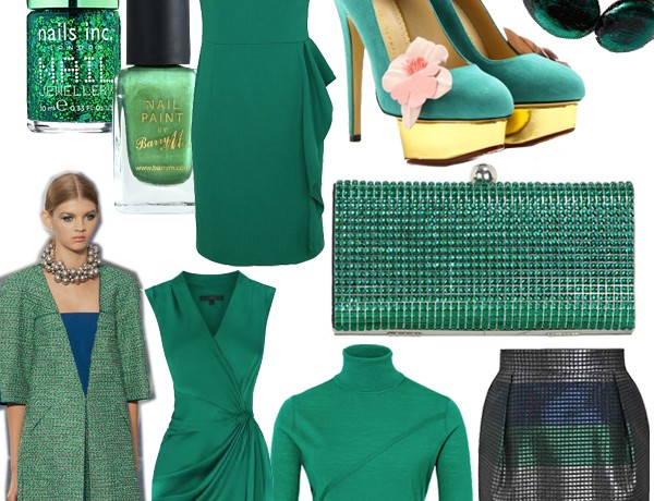 Midweek Moodboard: Pantone-approved emerald