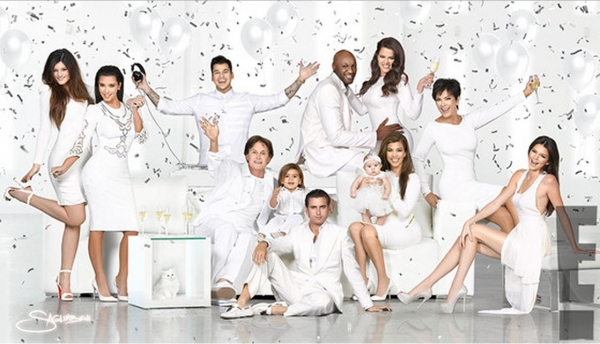 The Kardashians wish us a very Merry Khristmas 2012