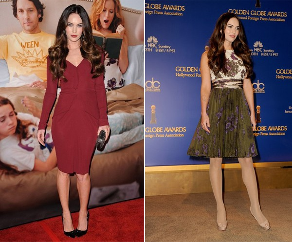 Two flawless Megan Fox looks for the price of one!