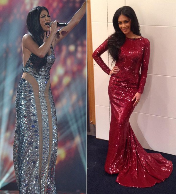 Nicole Scherzinger blows us away with Julien Macdonald and Zuhair Murad X Factor dresses