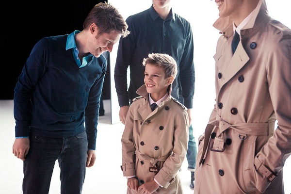 Is 10-year-old Romeo Beckham's modelling debut justifiable?