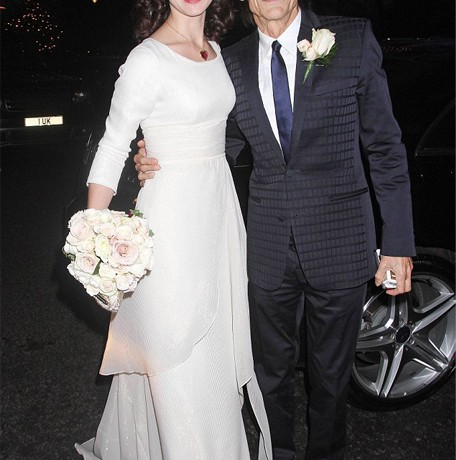 Ronnie Wood marries Sally Humphreys