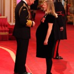 Sarah Burton gets OBE, hopes to dress Kate Middleton's bump