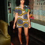 Solange Knowles brightens up her listening party in Boxing Kitten