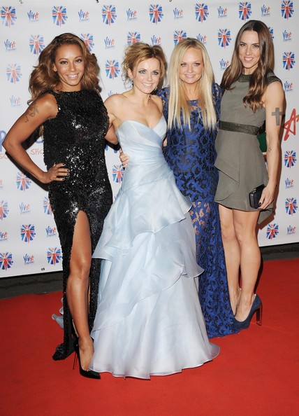The Spice Girls kill it at Viva Forever premiere in London's Piccadilly