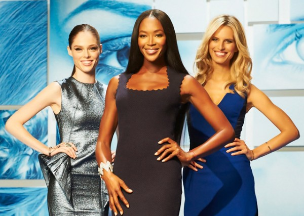 Catfights between Naomi Campbell, Coco Rocha and Karolina Kurkova aplenty on The Face