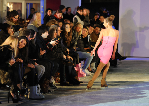 Very.co.uk presents UK's first ever catwalk show on ice!