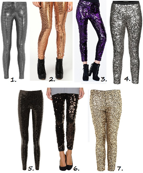7 sequin leggings
