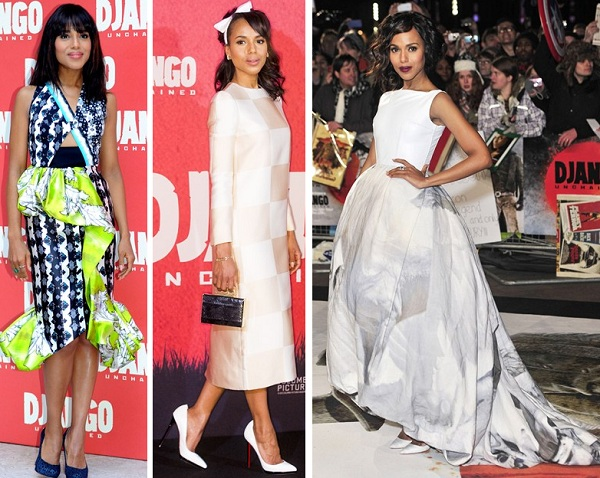 Kerry Washington scoops Best Dressed of the Week spot