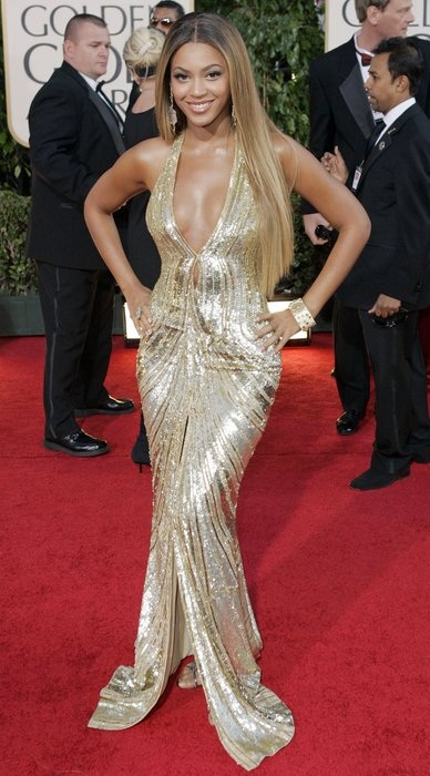 Beyonce 2007 Golden Globes