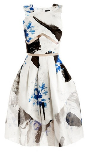 Christopher Kane Dutch-print Princess Dress: Yay or nay?
