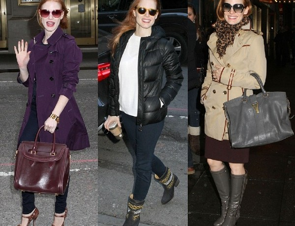 Jessica Chastain's off-duty style scoops Best Dressed of the Week spot