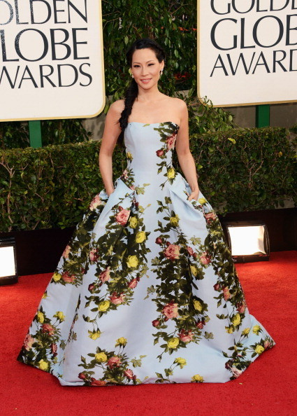 Lucy Liu scoops Best Dressed of the Week in Carolina Herrera