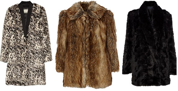 Three gorgeous faux fur coats (and how to wear them)