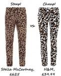 Steep vs Cheap Leopard Print Pants
