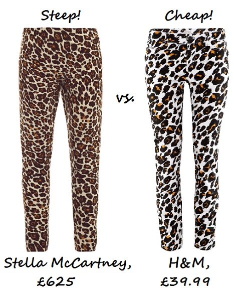 Steep vs Cheap Leopard Print Pants