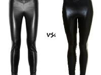 Steep vs cheap wet look leggings image