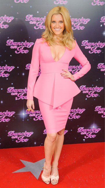 Ashley Roberts gets her Barbie on for Dancing on Ice press launch