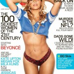A nearly naked Beyonce graces GQ's February issue