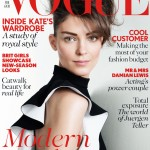 British Vogue chooses Russian beauty Kati Nescher for February cover
