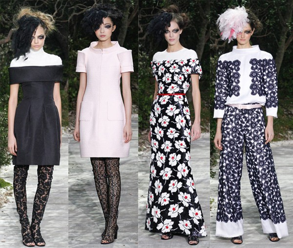 Couture Fashion Week highlights from Chanel and Armani Privé