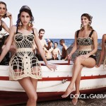 Dolce and Gabbana keeps it in the family again for SS13 ad campaign