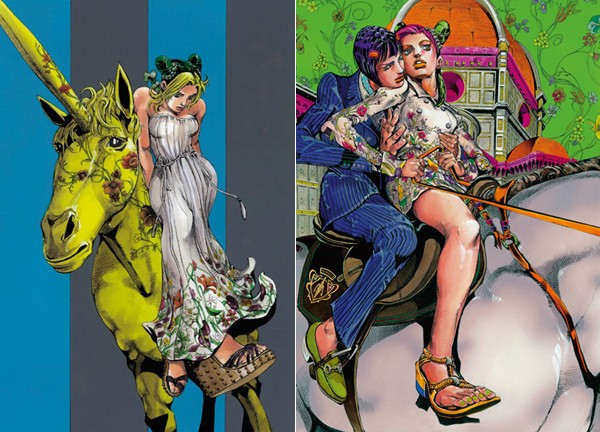 Gucci collaborates with Manga artist for new window displays