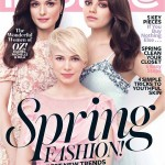 Mila Kunis, Michelle Williams and Rachel Weisz for InStyle US March