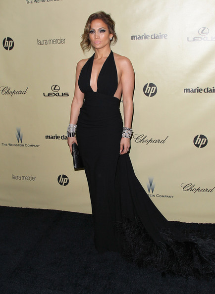 Jennifer Lopez gets top marks for her Golden Globes after-party look