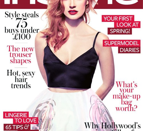 Jessica Chastain talks Hollywood with InStyle UK February
