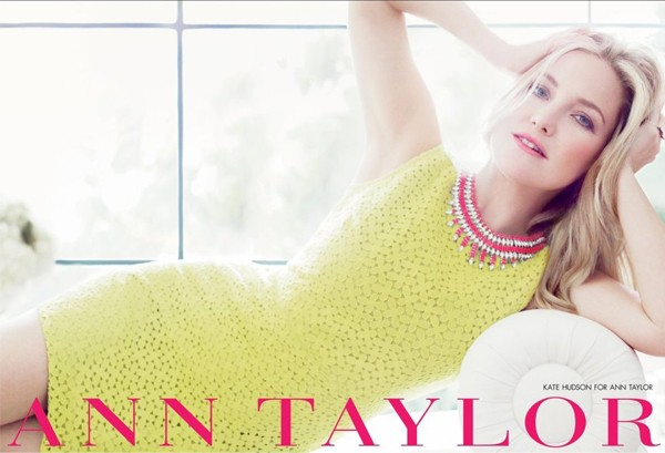 Kate Hudson creates capsule collection for Ann Taylor