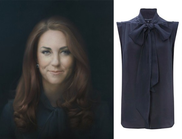 Kate Middleton wore French Connection in her official portrait