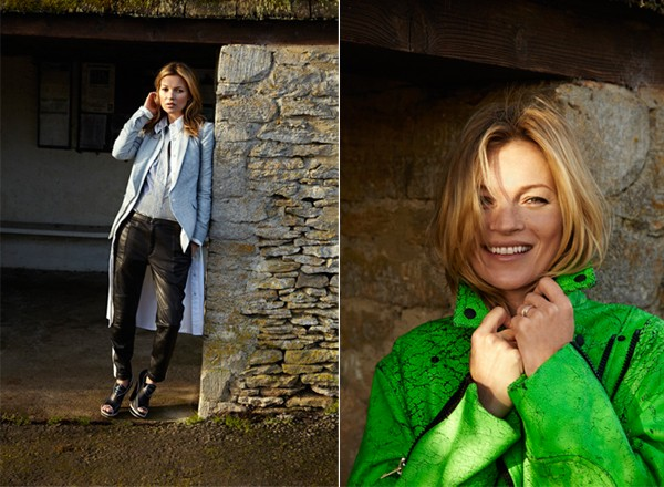 Kate Moss's Rag & Bone SS13 shoot in the Cotswolds