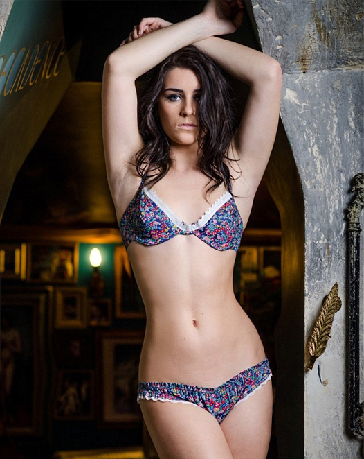 X Factor's Lucie Jones launches lingerie collection