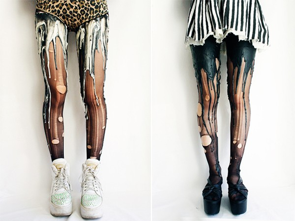 Would you wear the melting tights?