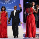 Michelle Obama wore Jason Wu again to the Inauguration ball!