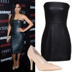 Get Naya Rivera's leather red carpet look