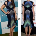 Olga Kurylenko vs. Olivia Munn: Who wore Peter Pilotto better?