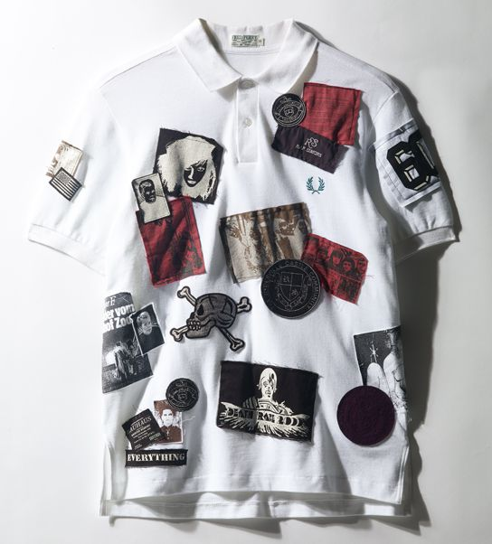 Raf Simons, Bora Aksu and Inez and Vinoodh design 60 years t-shirt for Fred Perry