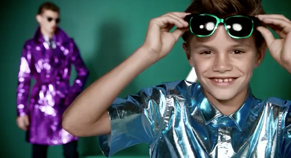 Watch Romeo Beckham have the time of his life in Burberry's SS13 vid