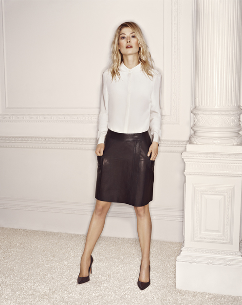 Rosamund Pike is the new face of L.K. Bennett