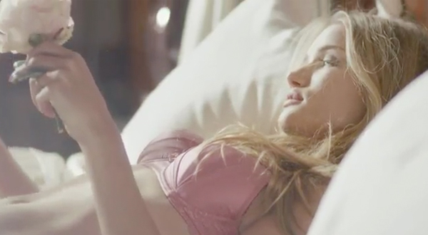 Peek Rosie Huntington Whiteley's Valentine-inspired lingerie collection