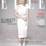 Scarlett Johansson sizzles in Victoria Beckham for Elle UK February 2013