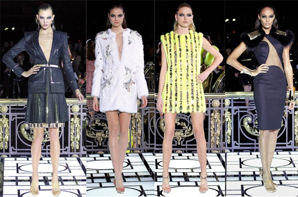 Karlie Kloss and Joan Smalls kick off Paris Couture Fashion Week for Atelier Versace