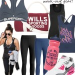 Midweek Moodboard: Work-out gear